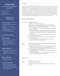... CV template Avant ...
