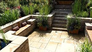 Small Picture Beautiful Garden Patio With A Selection Of Designs Container Herb