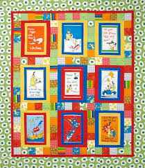 341 best Quilt-Dr. Seuss images on Pinterest | Quilt baby, Baby ... & Dr. Seuss Green Eggs and Ham Quilt Kit Finished size: 60