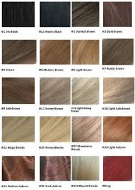 Hair Colour Chart Hair Images 2016 Palette Schwarzkopf