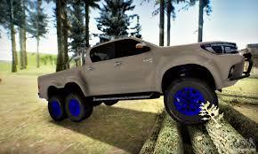 Toyota Hilux Arctic Trucks 6x6 for GTA San Andreas