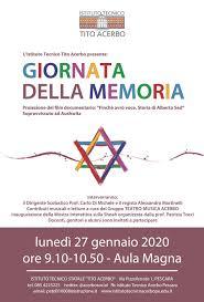 Commemorazione delle vittime dell'Olocausto – Giornata della ...
