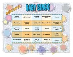 Classic Printable Baby Shower Bingo 11 Styles EBabyShowerGamescomBaby Shower Bingo Cards Printable