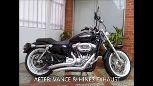 image gallery sportster 1200 exhaust
