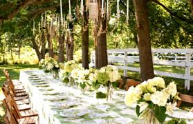 Outdoor Table Decor Image Christmas Dinner Decoration Ideas Party Table Decorations