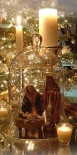 Apothecary Jars Christmas Decorations A beautiful way to display nativity Pinteres 99