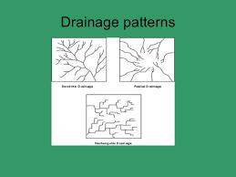 Drainage Patterns Drainage Patterns And Settlement Basic Geography