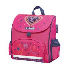 <b>Ранец дошкольный</b> Mini Softbag Pink Hearts 50014088 от <b>Herlitz</b> ...