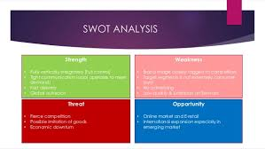 vertical integration and zara retailing swot analysis