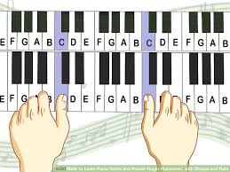 Keyboard Finger Position Chart Keyboard Chord Chart With Finger Placement