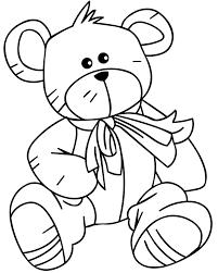 Di Per Bear Bambini Da Colorare Disegno Teddy Rdthqcxbos