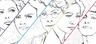 Color Outside The Lines Women In Stem 2017 Coloring Book