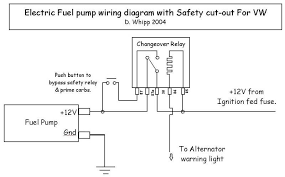 fuel pump relay wiring diagram how to rewire install fuel pump Fuel Pump Relay Wiring Diagram electric fuel pump wiring diagram with safety cut out for vw csp and cb performance are fuel pump relay fuel pump relay wiring diagram 93 top kick