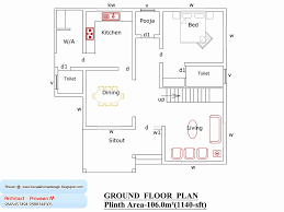 1000 sq ft house plans 3 bedroom kerala style lovely home plan design india 1000 sq