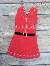 Dream Catcher Dolls ITH Small DollElf Dress Holiday Bundle Embroidery Design 100 88