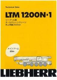 Liebherr Ltm1200n 1 All Terrain Crane Cranepedia