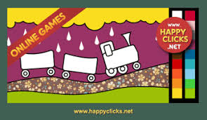 Encourage fun and learning at the same time with. Toddlers Coloring Games Paint The Train