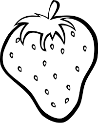 Colouring Sheets Of Fruits Printable Fruit Coloring Pages 4 The