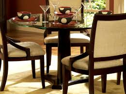 Large Dining Tables To Seat 10 Round Glass Dining Table For 4 Kitchen Decor With 5 Piece