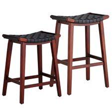 Leather Bar Stools With Back O19