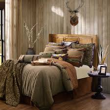 Lodge Bedroom Decor Luxury Rustic Bedding And Cabin Bedding