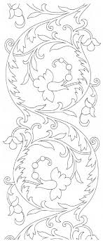 Free Hand Embroidery Patterns Extraordinary Free Hand Embroidery Pattern Scroll Design NeedlenThread