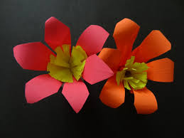 Paper Crafted Flowers Paper Crafts Lily Flower
