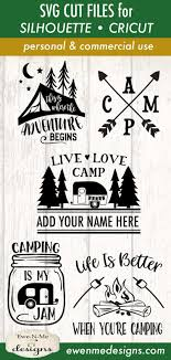 You will need to unzip the file in order to get the svg. Pin On Camping