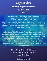 yoga nidra in the dalles 9 15 12 1 30pm 35