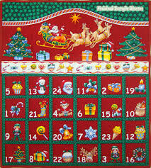 advent calander folded christmas advent calendar panel red logans patchwork fabrics