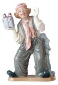 Z2406 // <b>Фигурка</b> «<b>Клоун с подарком</b>» - оригинальные сувениры ...