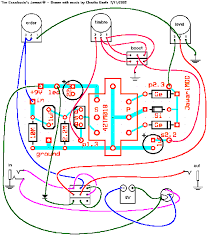 fuzz pedal circuit diagram here's my layout and wiring diagram