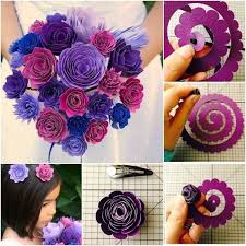 How To Make Paper Flower Bouquet Step By Step Paper Flower Bouquet Pictures Photos And Images For Facebook