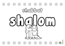 Small Picture Shabbat and Mitzvot Coloring Pages Jewish Traditions for Kids