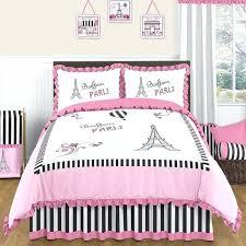 paris themed bedding 3 piece comforter set paris themed twin bedding sets