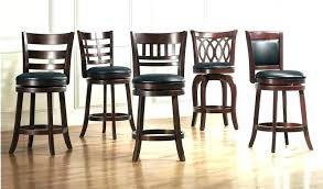 swivel bar stools with backs and arms fascinating chairs leather stool back wood no non commercial