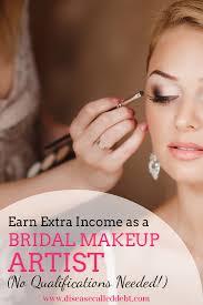 become a bridal makeup artist earn