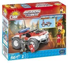 <b>Конструктор Cobi</b> Action Town 1443 <b>Пожарный квадроцикл</b> ...