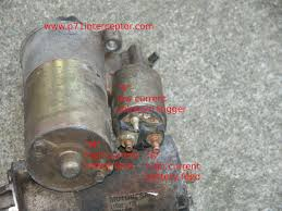 ford starter solenoid spade terminal Ford Starter Motor Wiring Ford F-250 Starter Solenoid Wiring Diagram