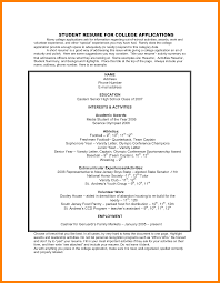 Resume For College Application 100 resume for college application nurse homed 53