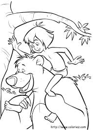 printable drawings and coloring pages return to the jungle book
