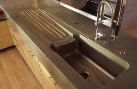 sink concrete countertop edge forms