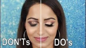 how to apply eyeshadow hindi eyeshadow do s and don ts deepti