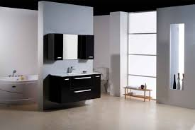 Dark Cabinet Bathroom Small Bathroom Dark Cabinets The Suitable Home Design