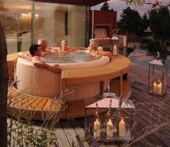 wooden spas surrounds