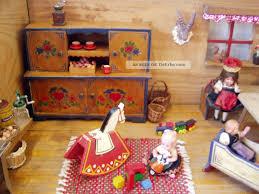 Alte Puppenküche Bauernküche Mit Reichl Zubehör Puppenstube