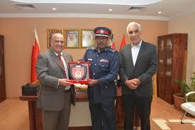 Director General Of Civil Defence Receives Bapco Deputy Ceo