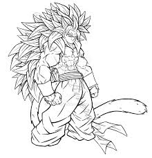Small Picture Fusion Dragon Ball Z Super Saiyans Coloring PagesDragonPrintable