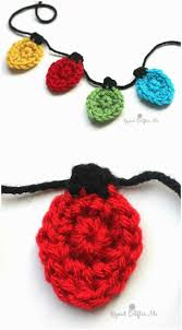 Crochet Christmas Lights Blanket Crochet Garland Pattern 73 Free Crochet Garland Ideas