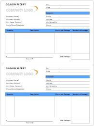 Excel Delivery Goods Receipt Form Template Excel Proof Of Delivery Arttion Co